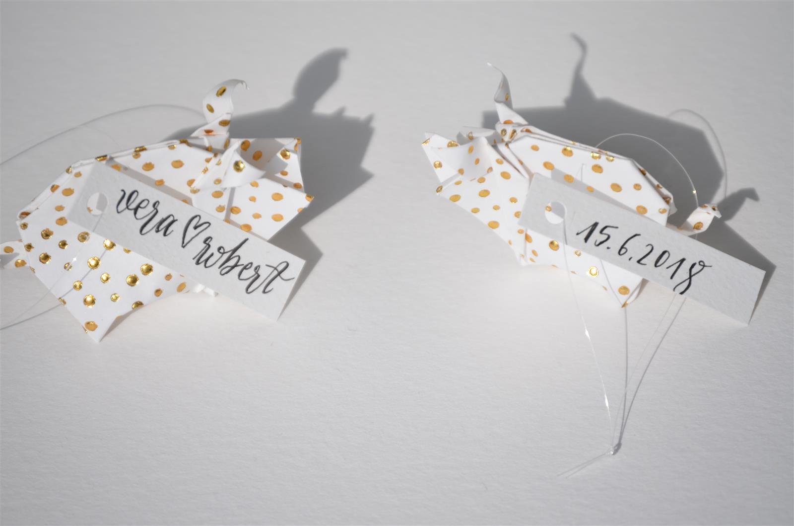 Glücksschwein-Paar als Gimmick zur Hochzeit _2