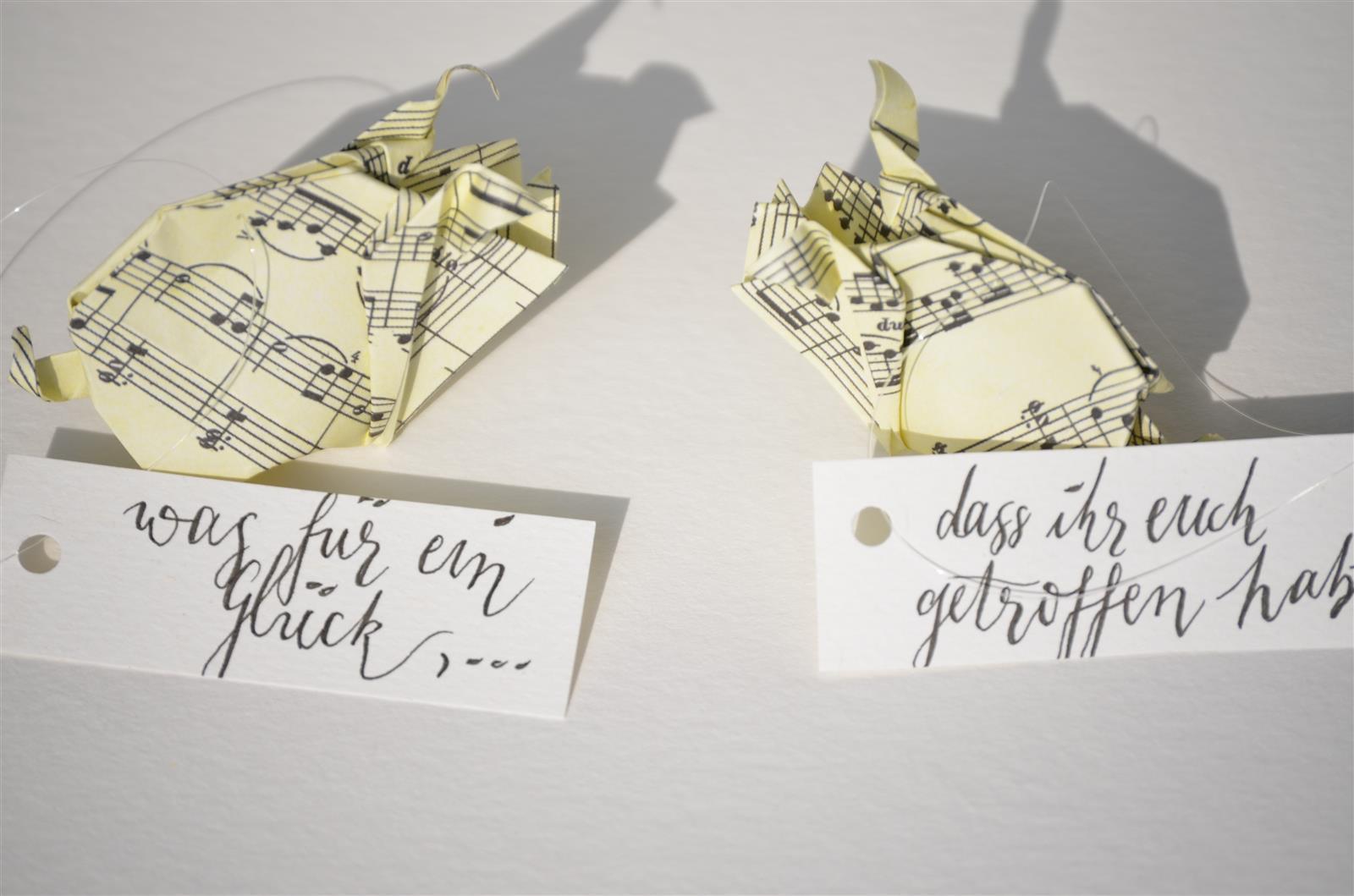 Glücksschwein-Paar als Gimmick zur Hochzeit _1