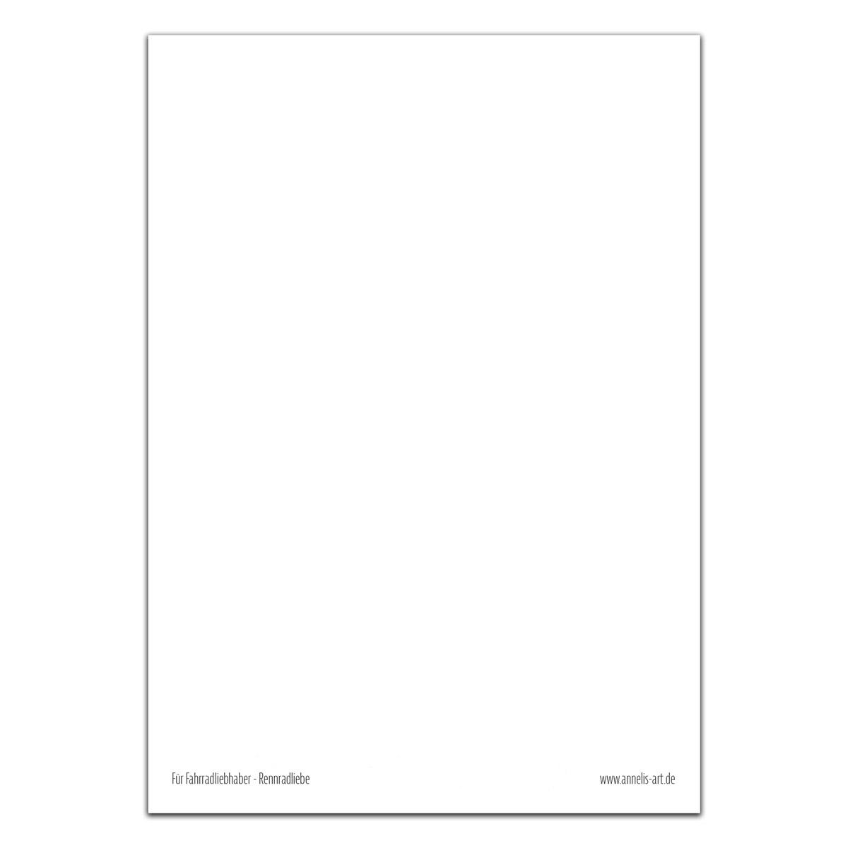 Postkarte | Rennradliebe