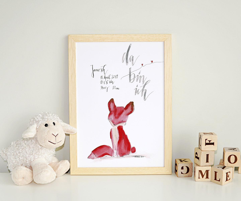 Geburtsbild Fuchs